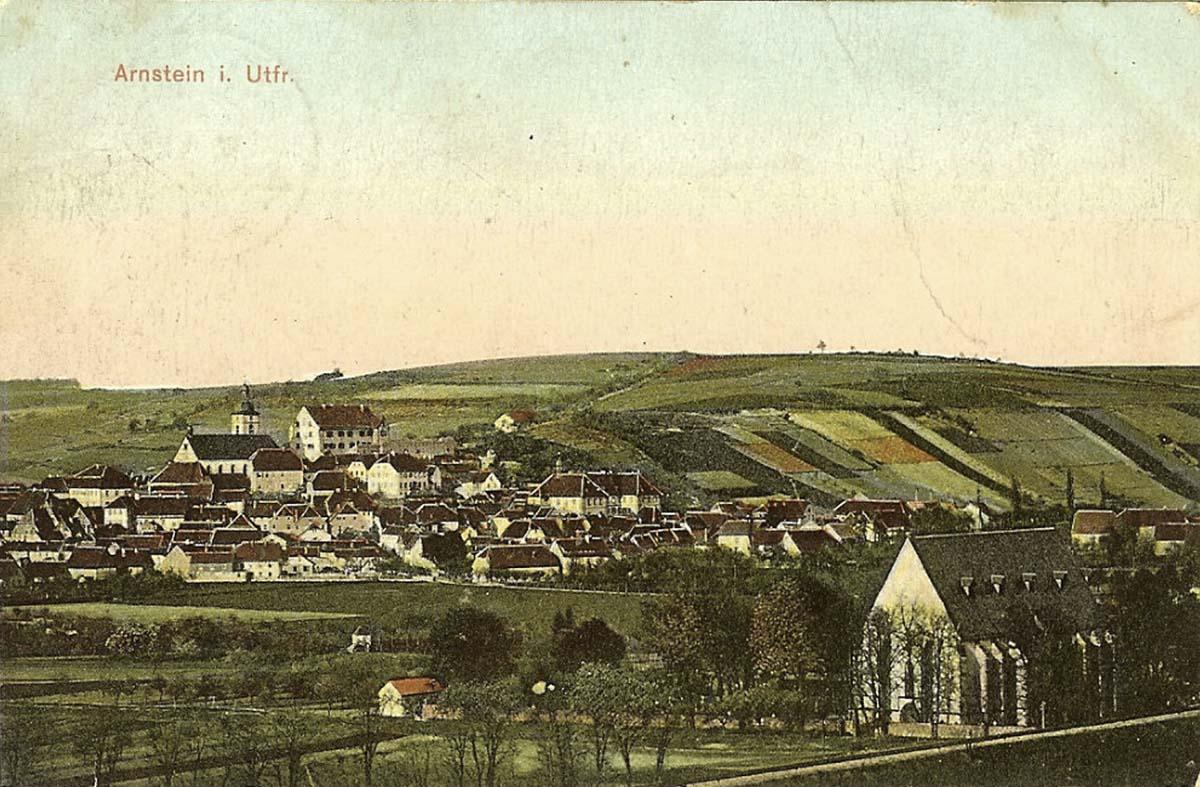 Panorama von Arnstein (Unterfranken), 1912