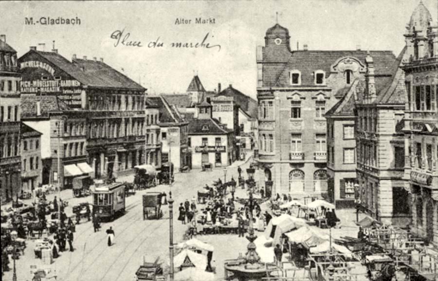 Mönchengladbach. Alter Markt